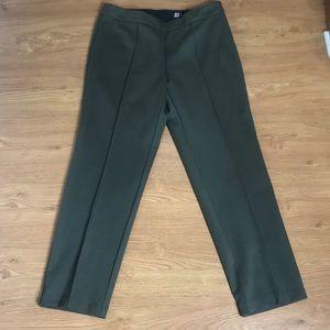 Valerie Bertinelli Green Dress Pants Size 12